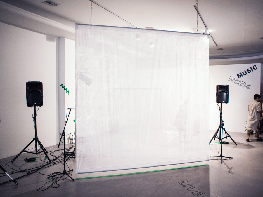 Music Issues / N(enter)S / LACE, 2014 / curated by Jules Gimbrone, Brian Getnick, Tanya Rubbak